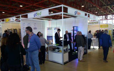 Gote con sus marcas GTLAN y GTLED en EFICAM 2019
