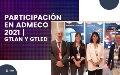Participación en ADMECO 2021 con GTLAN y GTLED