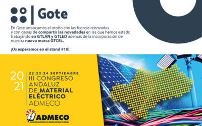 Participación de GOTE SA en III CONGRESO ANDALUZ DE MATERIAL ELÉCTRICO