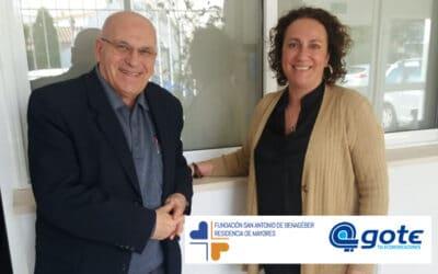 Acuerdo de colaboración entre GOTE SA y la Fundación San Antonio de Benagéber